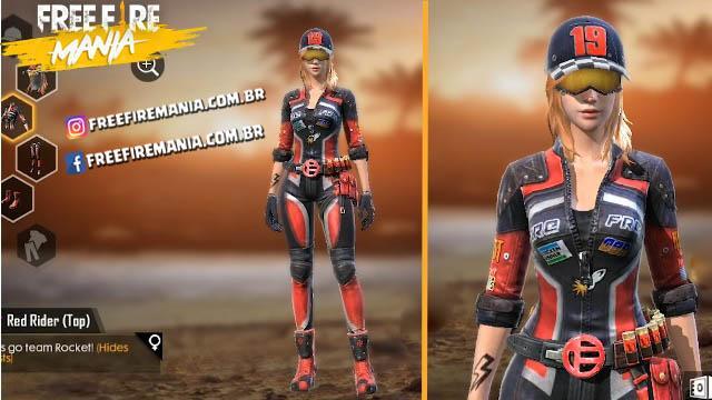 Nova Loja dos Estilhaços - Nova Skin Red Rider