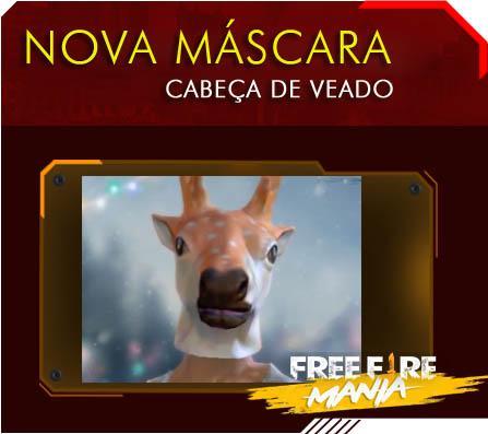 Nova Máscara: Cabeça de Veado