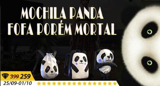 Nova Mochila Panda