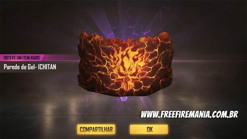 Nova Parede de Gel Ichitan chega ao Free Fire
