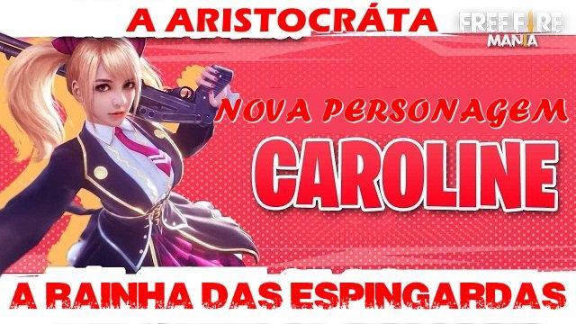 Nova Personagem - Caroline