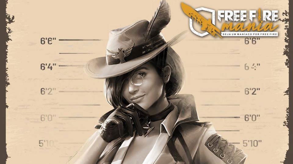 Nova Personagem Evelyn chega em Julho ao Free Fire