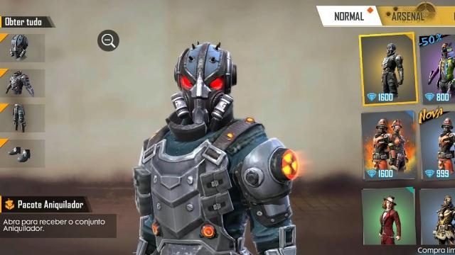 Nova Skin Aniquilador