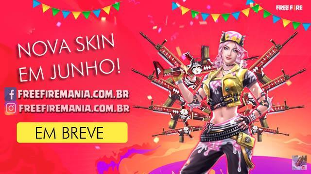 Nova Skin chegando em Junho/2019