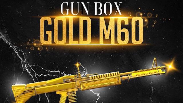 Nova Skin da M60 para o Revolta Mortal
