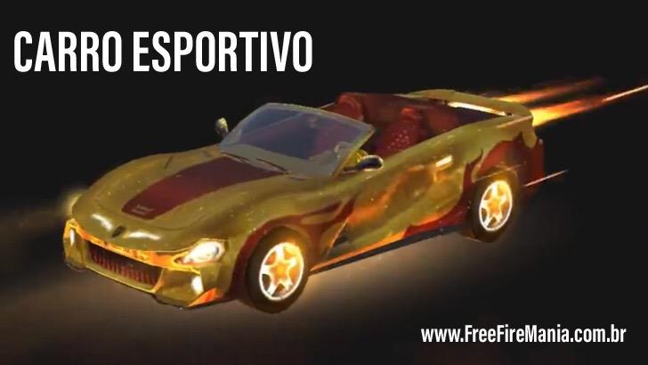 Nova Skin do Carro Esportivo: Corrida Suave