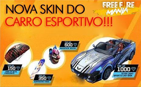 Nova Skin do Carro Esportivo