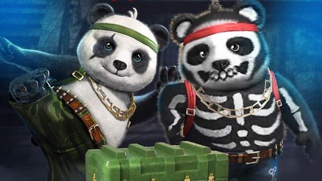Nova Skin do Panda Esqueleto na Loja