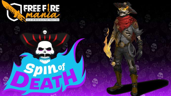 Nova Skin Senhor da Morte chegando ao Free Fire