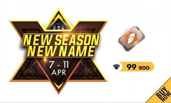 Nova Temporada, Novo Nome! Troque seu Nick 99 Diamantes