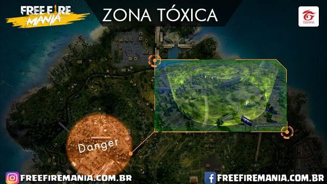 Zona Tóxica Free Fire: confira os detalhes deste novo recurso