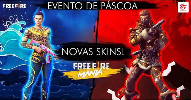 Novas Skins - Escolha sua Preferida neste Evento
