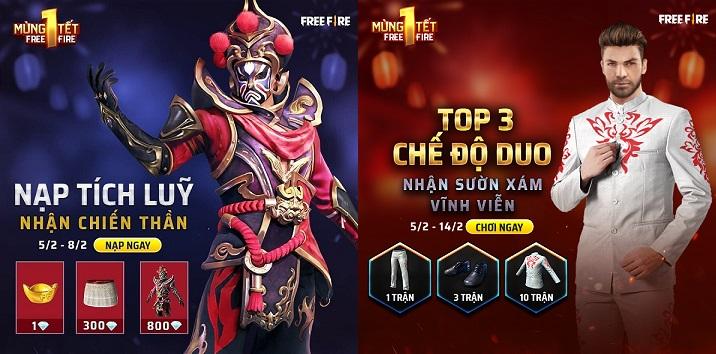 Novas Skins: Evento TET no Vietnã