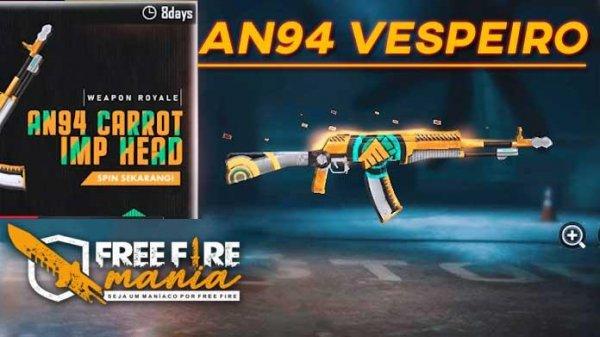 Novo Arma Royale da AN94 Vespeiro