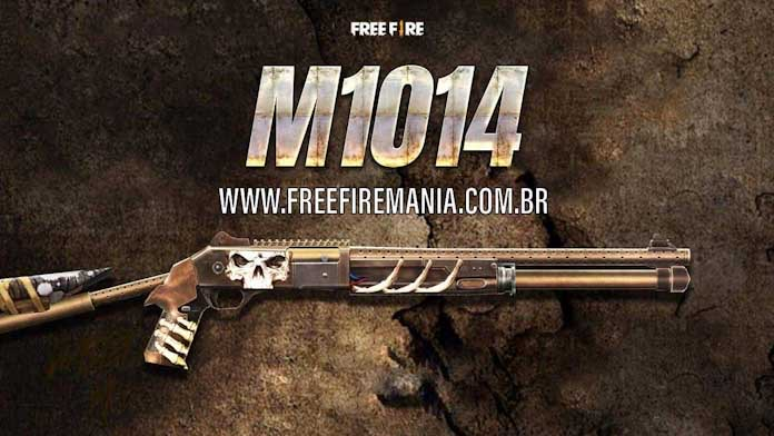 Dua Belas Baru M1014 Royale Senjata dalam Free Fire