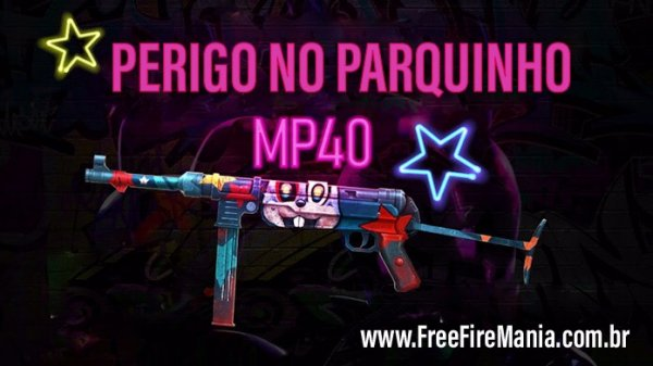 Novo Arma Royale da MP40 Perigo no Parquinho