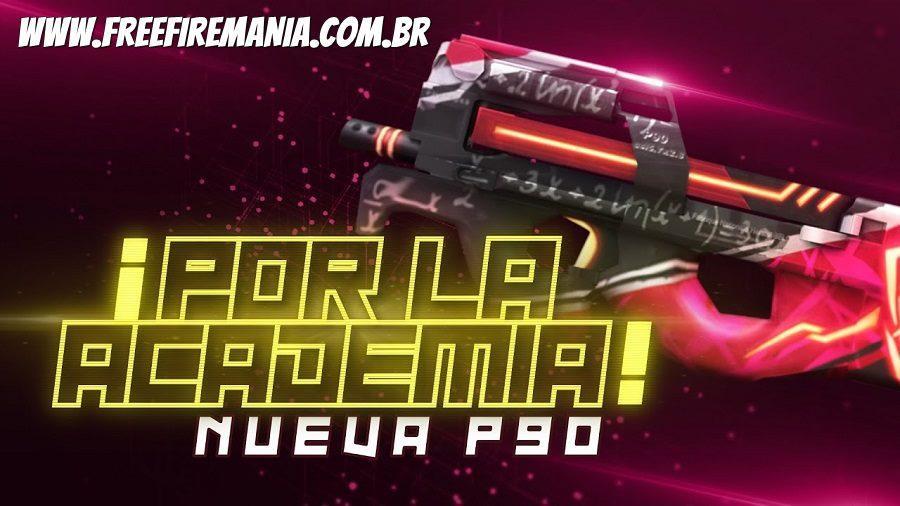 Novo Arma Royale da P90: Centro Acadêmico Rebeldia