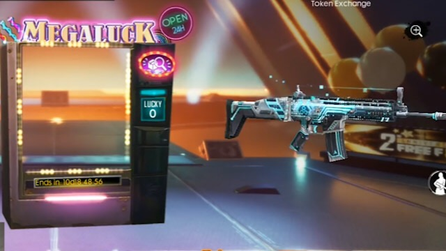 Novo Arma Royale da SCAR Fantasma