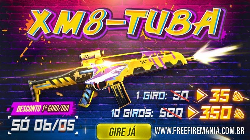 Novo Arma Royale da XM8 Tuba