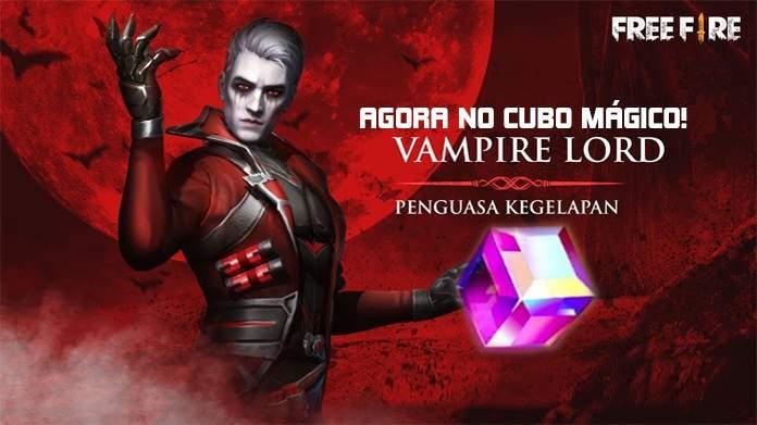 Novo Cubo Mágico: Vingança do Vampiro no Free Fire