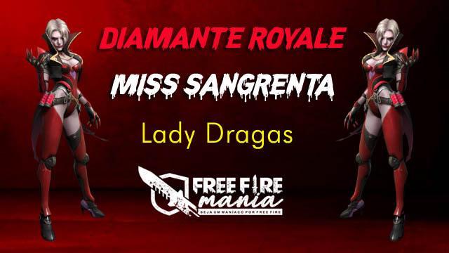 Novo Diamante Royale Vampira Lady Drakas