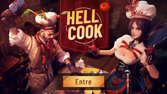 Novo Evento Chefe de Cozinha