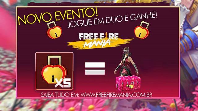Novo Evento Festival do Amor: Colete Fechaduras de Coração!