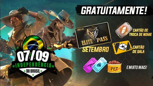 Novo Evento: Independência do Brasil