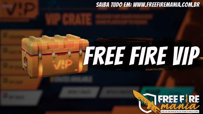 Novo Free Fire Vip