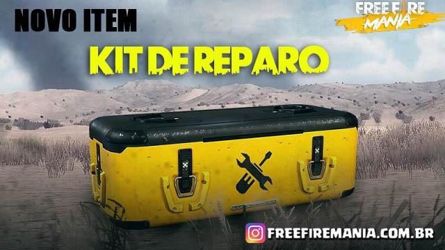 Novo item - Kit de Reparo