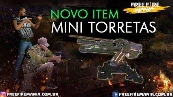 Novo Item: Mini Torreta