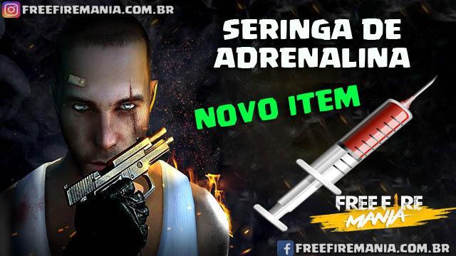 Novo Item: Seringa de Adrenalina