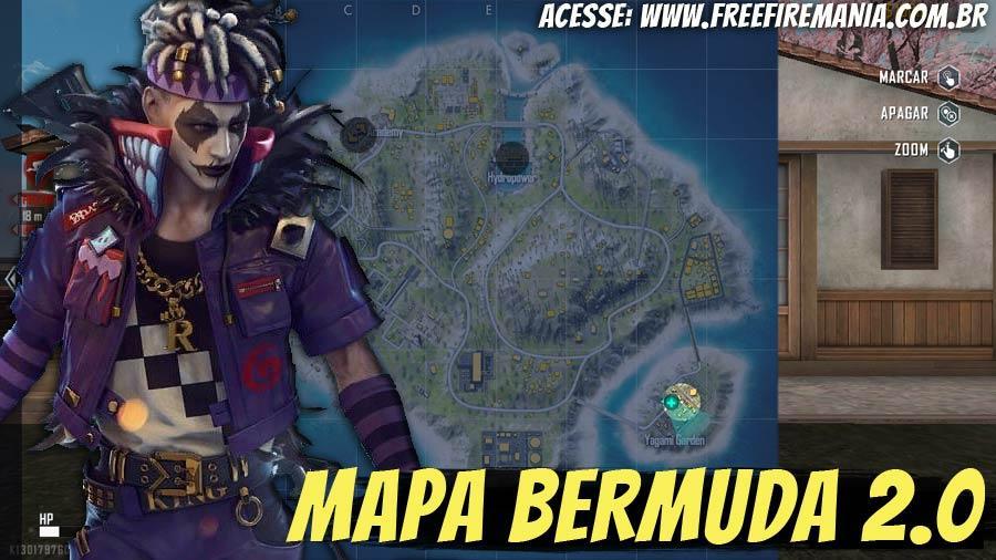 Bermuda 2.0: novo mapa disponível no Free Fire