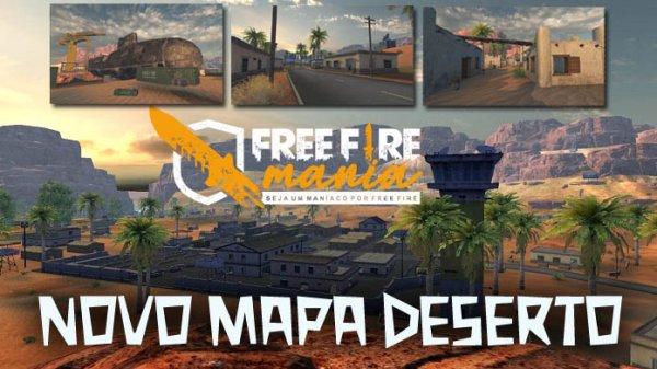 Mapa Kalahari Free Fire: confira todos os detalhes do mapa do deserto