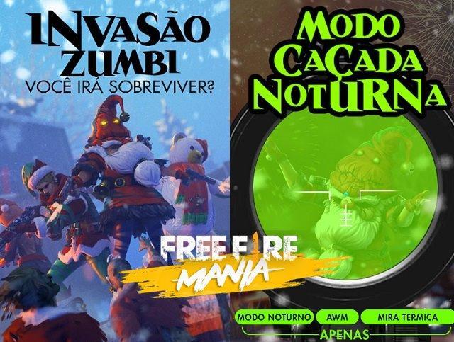 Novo Modo Caçada Noturna e uma Nova Invasão Zumbi!