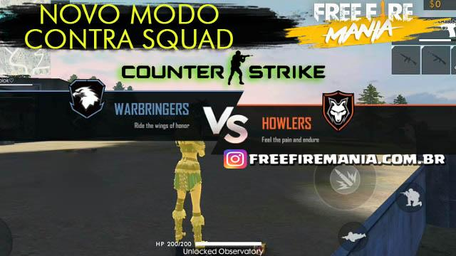 Novo Modo Contra Squad no Estilo Counter Strike