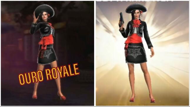 Novo Ouro Royale de Agosto: Skin Nobre Senhora