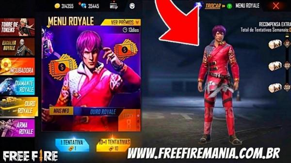 Novo Ouro Royale Free Fire de Setembro 2021: pacote Estudante de Moda chega ao Battle Royale