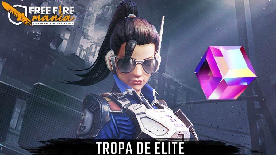 Novo Pacote com a skin Tropa de Elite no Cubo Mágico