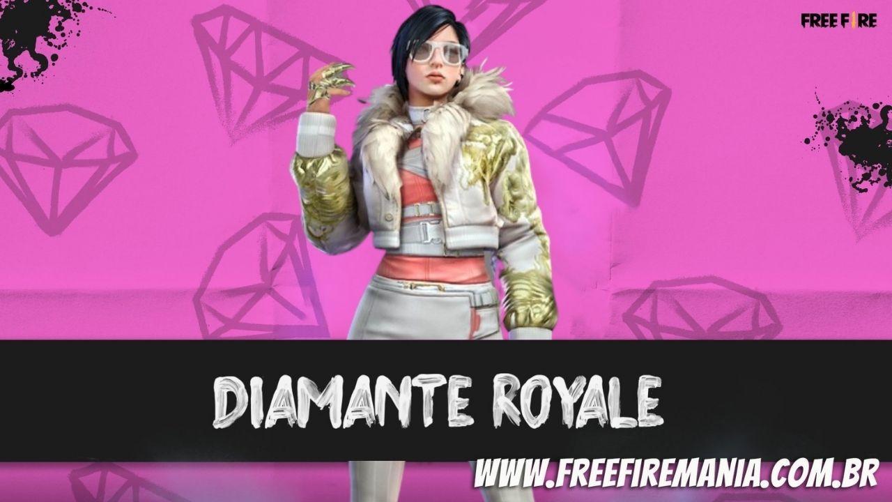 Novo pacote Fúria do Dragão chega no Diamante Royale do Free Fire em Julho