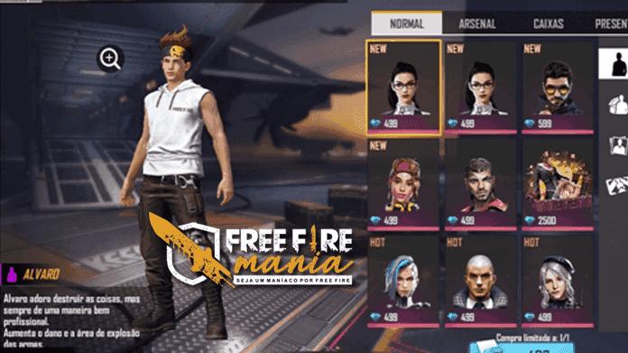 Novo Personagem Alvaro no Free Fire - Habilidade