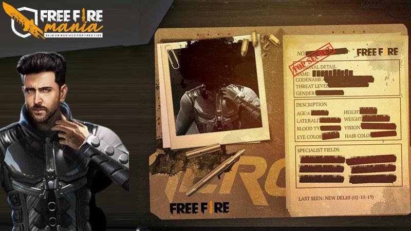 Novo personagem do Free Fire chama-se Jai e é um agente da Swat