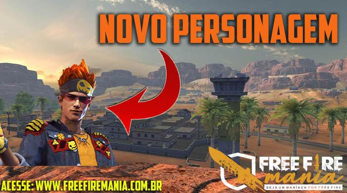 Novo Personagem do Free Fire: Samuel ou John?