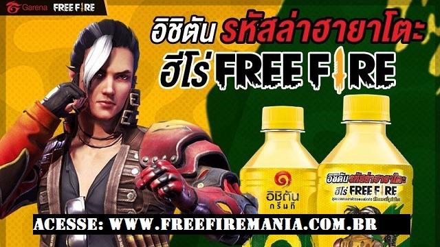 Karakter Hayato Baru Gratis di Thailand