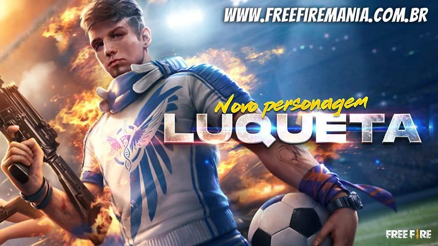 Nuevo personaje Luqueta no Free Fire