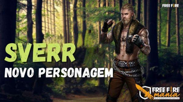 Personagem Sverr Free Fire, confira a habilidade