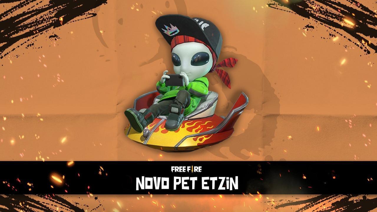 Novo Pet Free Fire: ETzin é um ser de vida extraterrestre, confira a habilidade