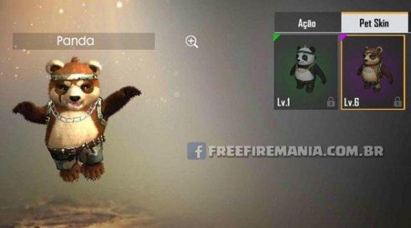 Novo Pet Panda - Veja Skin e Habilidade