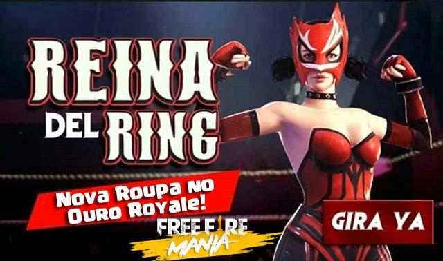 Novo Sorte Royale de Ouro: A Rainha do Ring!