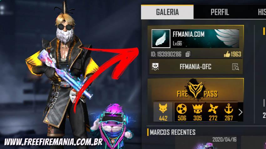 Banner Angelical: o item mais raro do Free Fire somente para influenciadores